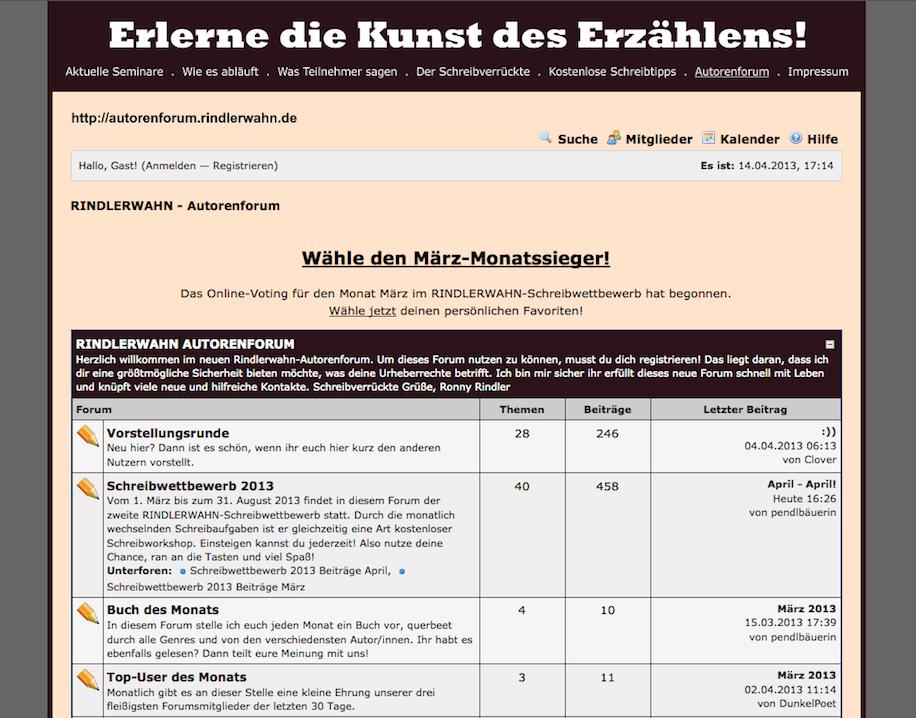 Screenshot Rindlerwahn