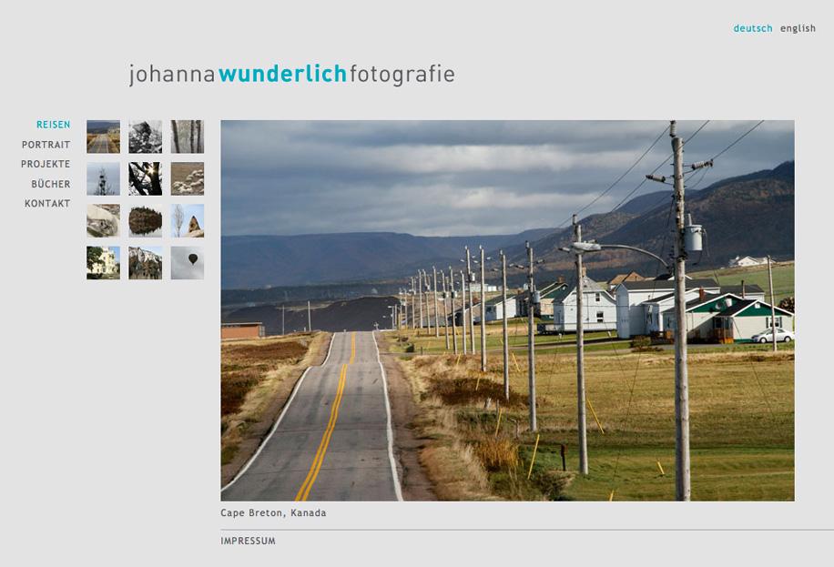 Screenshot: wunderlichfotografie.de