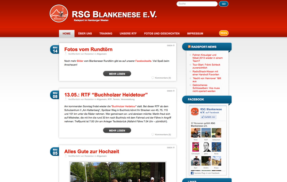 Screenshot: rsg-blankenese.de